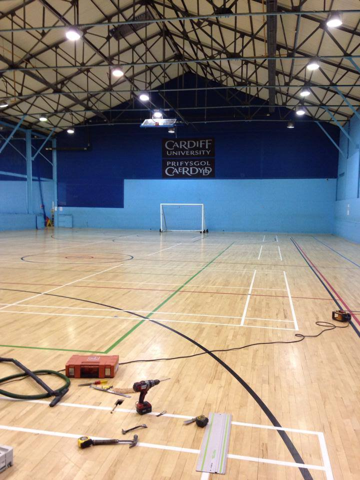 Sports Halls Amp Gymnasium Wood Floors Instalation Repair